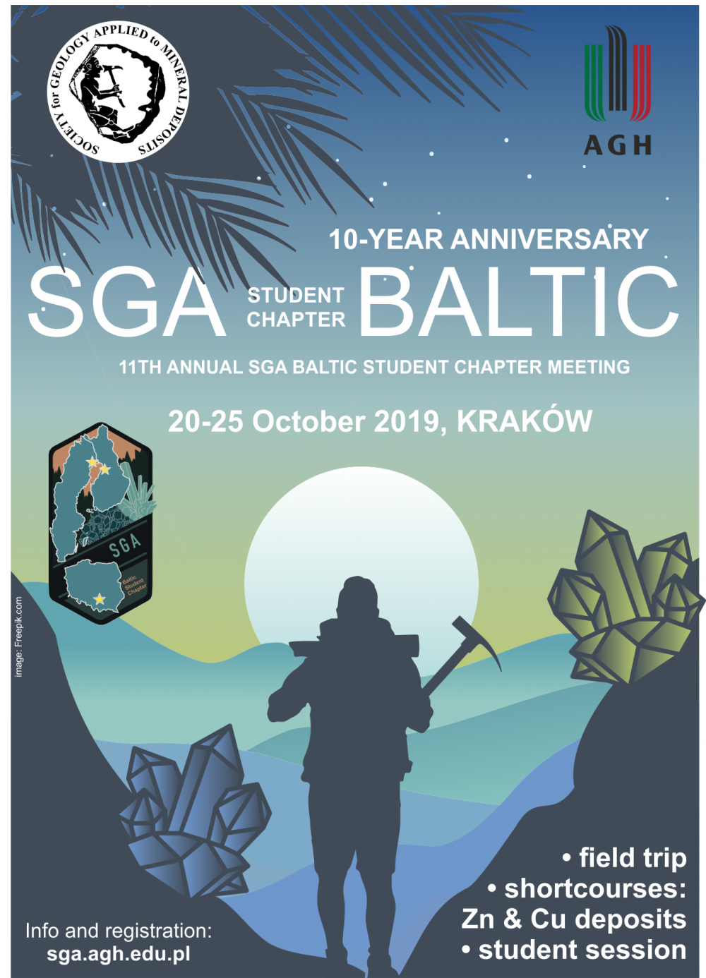 10-year anniversary of SGA Baltic student chapter